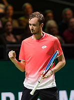 Rotterdam, The Netherlands, 16 Februari 2019, ABNAMRO World Tennis Tournament, Ahoy, Semis, Daniil Medvedev (RUS),<br /> Photo: www.tennisimages.com/Henk Koster