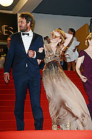 "Jessica Chastain and Jason Clarke attending the ""Lawless"" Premiere during the 65th annual International Cannes Film Festival in Cannes, 19th May 2012...Credit: Timm/face to face /MediaPunch Inc. ***FOR USA ONLY***"