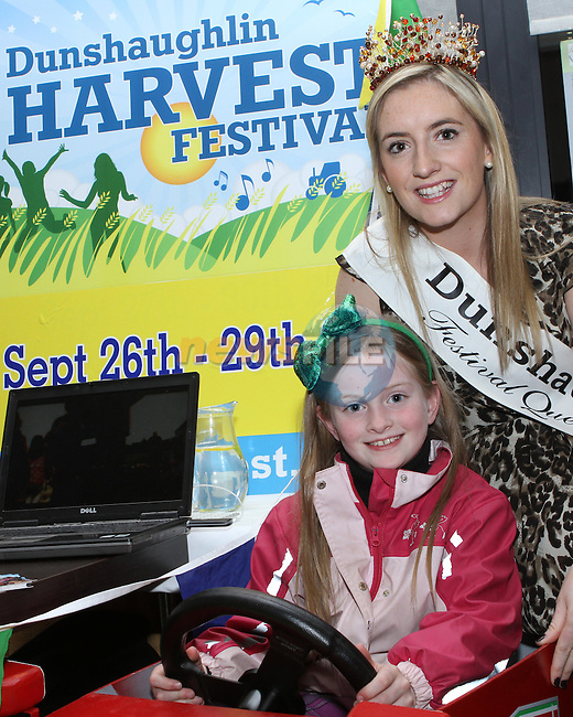 Catherine McCormack and Sarah Jane Brady at the Boyne Valley Gathering Showcase and Launch in the d Hotel....Photo NEWSFILE/Jenny Matthews.
