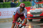 Robert Kiserlovski (CRO) Team Katusha Alpecin in action during Stage 1, a 14km individual time trial around Dusseldorf, of the 104th edition of the Tour de France 2017, Dusseldorf, Germany. 1st July 2017.<br /> Picture: Eoin Clarke | Cyclefile<br /> <br /> <br /> All photos usage must carry mandatory copyright credit (&copy; Cyclefile | Eoin Clarke)