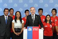 Juramento del Ministro del Deporte Gabriel Ruiz-Tagle