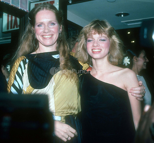 #Liv Ullman &amp; daughter #LinnUlman 1982<br /> Photo by John Barrett/PHOTOlink.net / MediaPunch