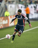New England Revolution midfielder Lee Nguyen (24)  The New England Revolution played to a 1-1 draw against the Houston Dynamo during a Major League Soccer (MLS) match at Gillette Stadium in Foxborough, MA on September 28, 2013.