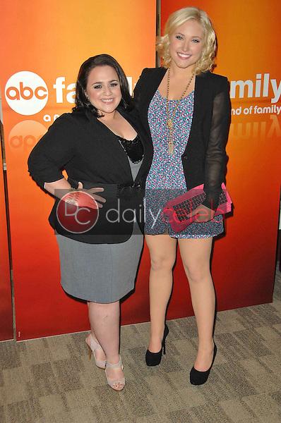 Nikki Blonsky and Hayley Hasselhoff<br /> at the Disney ABC Television Group Summer Press Junket, ABC Studios, Burbank, CA. 05-15-10<br /> David Edwards/Dailyceleb.com 818-249-4998