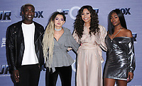 08 February 2018 - West Hollywood, California - Vincint, Zhavia, Evvie McKinney, Candice Boyd. The Four: Battle For Stardom season finale viewing party held at Delilah. Photo Credit: Birdie Thompson/AdMedia