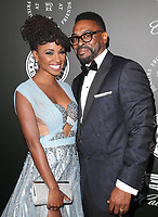 06 January 2018 - Santa Monica, California - Shanola Hampton, Daren Dukes. The Art Of Elysium's 11th Annual Black Tie Artistic Experience HEAVEN Gala held at Barker Hangar. <br /> CAP/ADM/FS<br /> &copy;FS/ADM/Capital Pictures