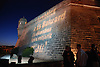 Projection on the wall of Es Baluard<br />