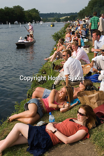 Henley Royal Regatta, Henley on Thames, Oxfordshire, England.