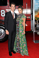 Miles Teller, Keleigh Sperry at the premiere for &quot;Only The Brave&quot; at the Regency Village Theatre, Westwood. Los Angeles, USA 08 October  2017<br /> Picture: Paul Smith/Featureflash/SilverHub 0208 004 5359 sales@silverhubmedia.com