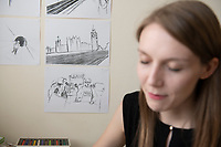 """Dominika Ozynska's  animated short """"We are not The Problem"""".  Behind the scenes of the Uncertain Kingdom Project."""