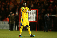 Cheikhou Kouyate of Crystal Palace applauds the fans after Doncaster Rovers vs Crystal Palace, Emirates FA Cup Football at the Keepmoat Stadium on 17th February 2019