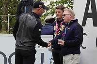 Paul Waring (ENG) shakes hands with Keith Pelley, CEO European Tour during the final round of the Made in Denmark presented by Freja, played at Himmerland Golf & Spa Resort, Aalborg, Denmark. 26/05/2019<br /> Picture: Golffile | Phil Inglis<br /> <br /> <br /> All photo usage must carry mandatory copyright credit (© Golffile | Phil Inglis)