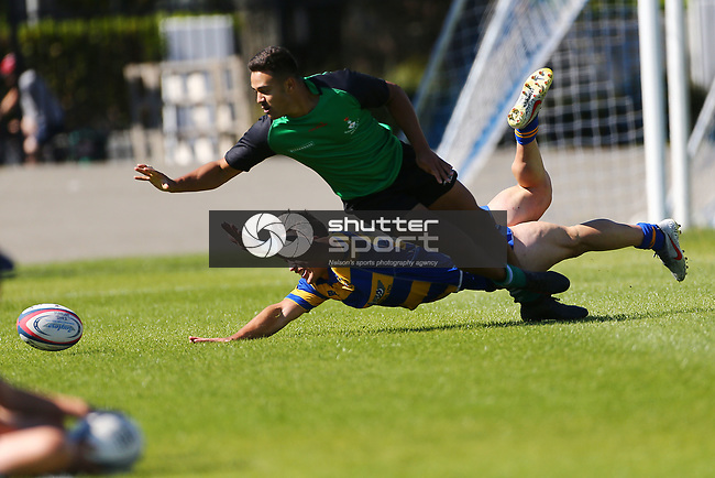 NELSON, NEW ZEALAND - APRIL 6:  E'stel Trophy Wanderers v Marist on April 6 at Trafalgar Park 2018 in Nelson, New Zealand. (Photo by: Evan Barnes Shuttersport Limited)