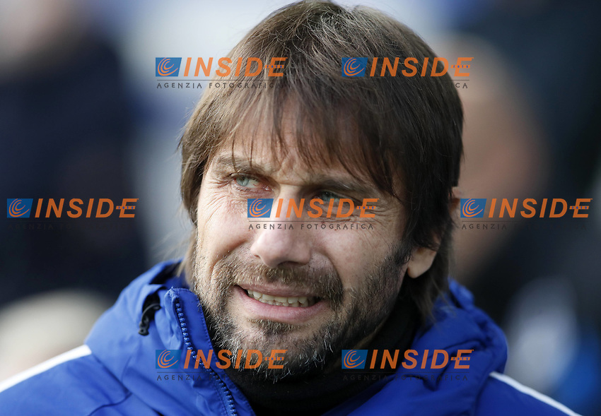 Chelsea s Antonio Conte looks on during the premier league match at Goodison Park Stadium, Liverpool. Picture date 23nd December 2017. Picture credit should read: David Klein/Sportimage PUBLICATIONxNOTxINxUK  <br /> Premier League 2017/2018 <br /> Foto Imago / Insidefoto