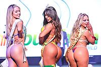 CIDADE DO MÉXICO, MÉXICO, 30.09.2019 - MISS-BUMBUM - Suzy Cortez  (ao centro) vencedora do, Jessica Lopes (d) terceiro colocada e Raysa Laura (e) segundo colocada no concurso Miss Bumbum World na  ForoTotal Play na Cidade do México na capital mexicana nesta segunda-feira, 30.  (Foto: William Volcov/Brazil Photo Press)