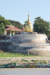 Bupaya Temple Along The Ayeyarwady River