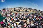 Supporters during the third race R3 of the XXX Spain GP Camion of the FIA European Truck Racing Championship 2016 in Madrid. October 02, 2016. (ALTERPHOTOS/Rodrigo Jimenez)