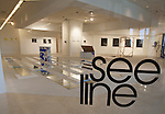 See Line Gallery inside the Pacific Design Center, West Hollywood, CA