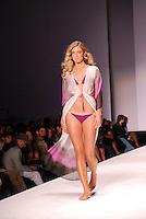 Kanomi Swimwear-Venezula Model, Alisa Basyuk, at Miami Beach International Fashion Week, Miami Beach Convention Center, Miami, FL - March 3, 2011
