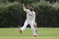Sejil Ramniclal of Cround End during during Crouch End CC (fielding) vs Waltham CC, ECB National Club Championship Cricket at The Calthorpe Ground on 9th June 2019