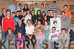 7601-7607.---------.Key to the door.---------------.Padraig Lynch(seated centre)from Listellick celebrated his 21st birthday last Friday night in Stokers Lodge Clounalour Tralee,with his Mom/Dad Una and Paudie and many family and friends.   Copyright Kerry's Eye 2008