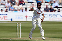 Mohammad Amir of Essex celebrates taking the wicket of Nick Gubbins during Essex CCC vs Middlesex CCC, Specsavers County Championship Division 1 Cricket at The Cloudfm County Ground on 26th June 2017
