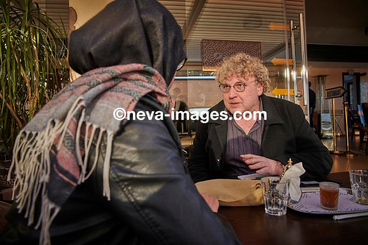 Rabat, Marrakech, du 9 au 12 janvier 2019, djhadiste Genevois arrêté, ici Arnaud Bédat journaliste d'investigation pour L'illustré Magazine © sedrik nemeth