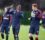 Joe Dodoo and David Bates