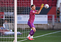 22nd July 2020; Ashton Gate Stadium, Bristol, England; English Football League Championship Football, Bristol City versus Preston North End; Daniel Bentley of Bristol City takes an easy save