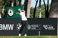 Ricardo Gouveia (POR) in action on the 10th hole during the second round of the 76 Open D'Italia, Olgiata Golf Club, Rome, Rome, Italy. 11/10/19.<br /> Picture Stefano Di Maria / Golffile.ie<br /> <br /> All photo usage must carry mandatory copyright credit (© Golffile | Stefano Di Maria)