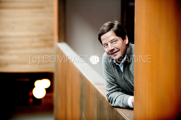 Quentin Nickmans, founder and partner of the eFounders company (Belgium, 02/10/2014)