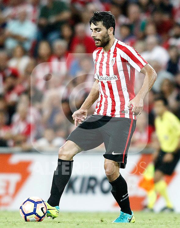 Athletic de Bilbao's Eneko Boveda during La Liga match. August 28,2016. (ALTERPHOTOS/Acero)