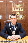 John Francis Flynn elected the new Mayor of the South and West Kerry Municipal District in County Buildings on Monday afternoon.
