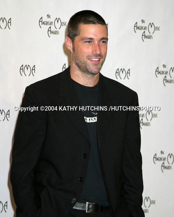 ©2004 KATHY HUTCHINS /HUTCHINS PHOTO.AMERICAN MUSIC AWARDS.LOS ANGELES, CA.NOVEMBER 14, 2004..MATTHEW FOX