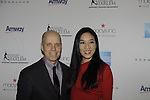 Scott Hamilton and Michelle Kwan - Skating with the Stars - a benefit gala for Figure Skating in Harlem in its 17th year is celebrated with many US, World and Olympic Skaters honoring Michelle Kwan and Jeff Treedy on April 7, 2014 at Trump Rink, Central Park, New York City, New York. (Photo by Sue Coflin/Max Photos)