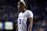 UK guard Janee Thompson during the first half of the women's basketball game v. Depaul University in Rupp Arena in Lexington, Ky., on Sunday, December 7, 2012. Photo by Genevieve Adams | Staff