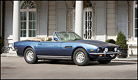 BNPS.co.uk (01202 558833)<br /> Pic: Bonhams/BNPS<br /> <br /> 1980 Aston Martin V8 Volante estimate &pound;120,000.<br /> <br /> If barn finds are the holy grail for car collectors then this selection of 12 vintage motors worth &pound;2million found languishing in a Swiss schloss is something else. <br /> <br /> The stunning collection, which boasts an iconic 1921 Rolls-Royce Silver Ghost, was started by a wealthy car enthusiast in the 1950s but since his death has remained largely untouched. <br /> <br /> However, the original owner's son recently rediscovered his father's haul and will now offer it at auction.