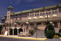 AJ2957, Hershey, Hotel, Pennsylvania, The Hotel Hershey in the town of Hershey in the state of Pennsylvania.