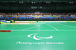 Carioca Arena 2/General view, <br /> SEPTEMBER 14, 2016 - Boccia : <br /> Individual BC3 match between Patrick Wilson 5-3 Kazuki Takahashi<br /> at Carioca Arena 2<br /> during the Rio 2016 Paralympic Games in Rio de Janeiro, Brazil.<br /> (Photo by AFLO SPORT)