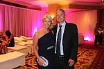 Julie Davies &amp; Kevin Akers.<br /> The Celebrity Cup Gala Dinner 2015<br /> Celtic Manor Resort<br /> <br /> 04.07.15<br /> &copy;Steve Pope - SPORTINGWALES