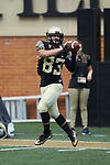 Wake Forest Demon Deacons wide receiver Maguire DiLenge (83) warms-up prior to the game against the Rice Owls at BB&T Field on September 29, 2018 in Winston-Salem, North Carolina. The Demon Deacons defeated the Owls 56-24. (Brian Westerholt/Sports On Film)