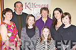 Ann Courtney, Denis Courtney, Ciara O'Donoghue, Katie Howe, Sister Catherine Courtney Sharon Howe, and Amanda Howe Listry enjoying the Kilfenora Ceili band concert in the INEC on Sunday night.