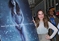 NEW YORK, NY - DECEMBER 12: Kate del Castillo unviels her PETA Latino ad in New York City on December 12, 2017. Credit: RW/MediaPunch /NortePhoto.com NORTEPHOTOMEXICO