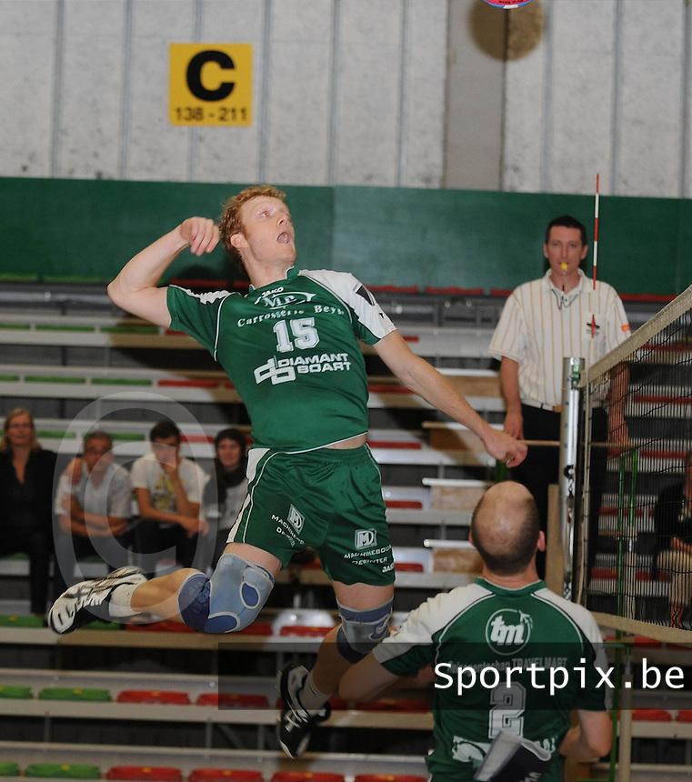 Marke Webis heren 1e divisie : Thijs Claassen .foto VDB / BART VANDENBROUCKE
