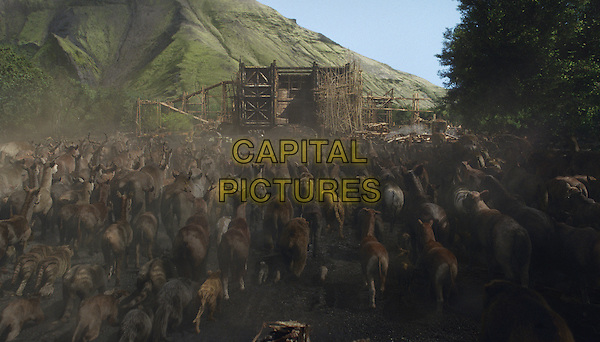 SCENE - Animals enter the Ark<br /> in Noah (2014) <br /> *Filmstill - Editorial Use Only*<br /> CAP/FB<br /> Image supplied by Capital Pictures