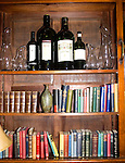 Liquor and Books, Cinnamon Club Restaurant, Belgrovia, London, Great Britain, Europe