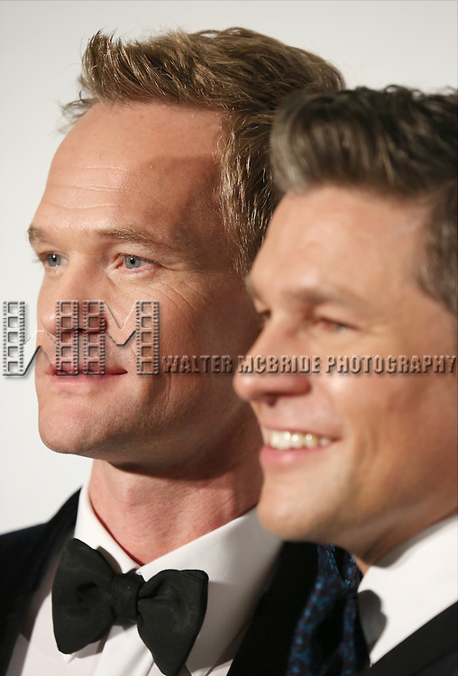 Neil Patrick Harris and David Burtka attend the Drama League's 30th Annual 'Musical Celebration of Broadway' honoring Neil Patrick Harris at the Pierre Hotel on February 3, 2014 in New York City.