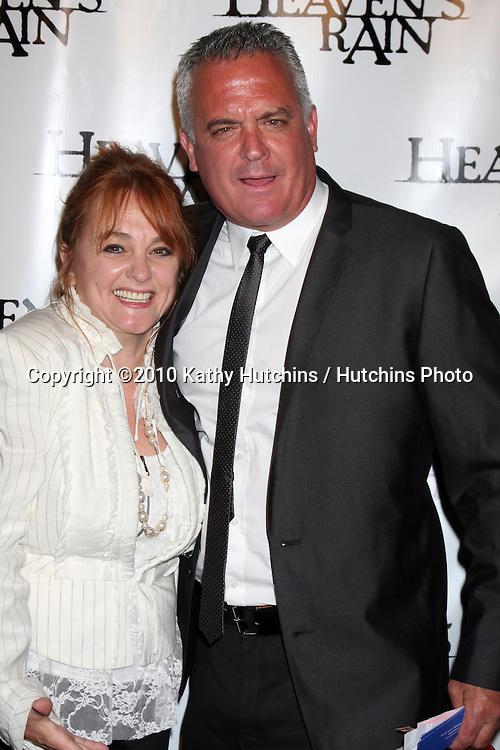 """LOS ANGELES - SEP 9:  Miss Julie Brown, Paul Brown arrives at the """"Heaven's Rain """" Premiere at ArcLight Cinemas on September 9, 2010 in Los Angeles, CA"""
