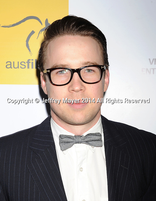 SANTA MONICA, CA- OCTOBER 26: Actor Andrew Ryan attends the 3rd Annual Australians in Film Awards Benefit Gala at the Fairmont Miramar Hotel on October 26, 2014 in Santa Monica, California.