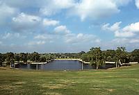 St. Louis: Forest Park, Art Museum Lagoon. Photo '78.